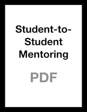 Student Mentoring
